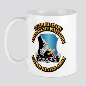 DUI - 297th Military Intelligence Bn w Text Mug