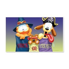 Garfield Trick or Treat 20x12 Wall Decal