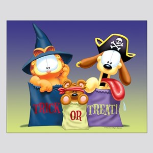 Garfield Trick or Treat Small Poster