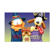 Garfield Trick or Treat Mini Poster Print