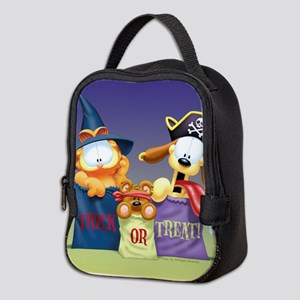 Garfield Trick or Treat Neoprene Lunch Bag
