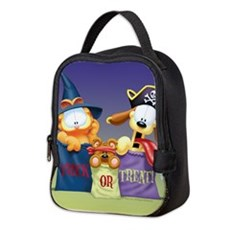 Garfield Trick or Treat Neoprene Lunch Bag