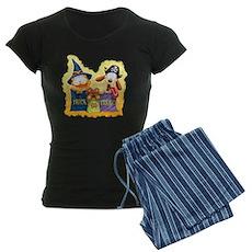 Garfield Trick or Treat Women's Dark Pajamas