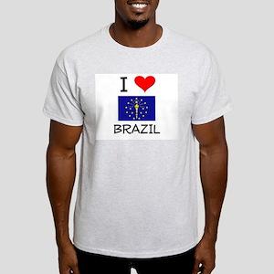 I Love BRAZIL Indiana T-Shirt