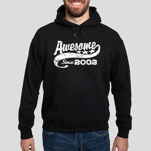 Awesome Since 2002 Hoodie (dark)