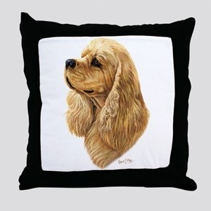 Cocker Spaniel (American) Throw Pillow