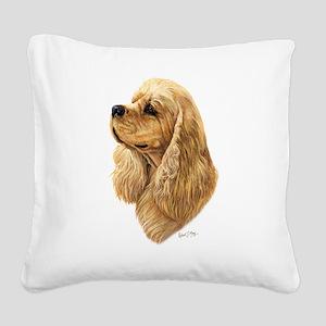 Cocker Spaniel (American) Square Canvas Pillow