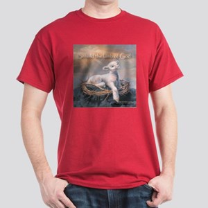 """Behold the Lamb"" Fine Art Dark T-Shirt"