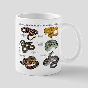 Venomous Snakes of South America Mug