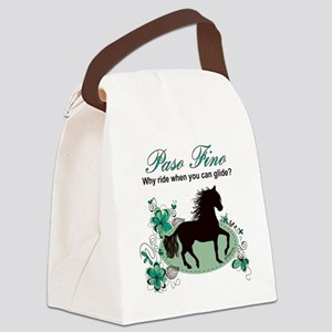 Paso Fino - Why Ride When You Can Canvas Lunch Bag