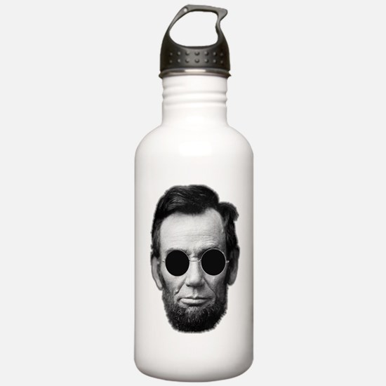 Abe Licoln and Cheap S Water Bottle