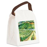 Winery Vineyard Art Canvas Lunch Bag