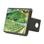 Winery Vineyard Art Hitch Cover