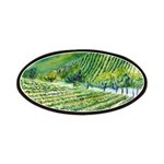 Winery Vineyard Art Patches