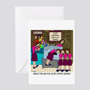 Copier greeting cards cafepress place head in 3 d printer greeting card m4hsunfo