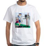 Email Only White T-Shirt