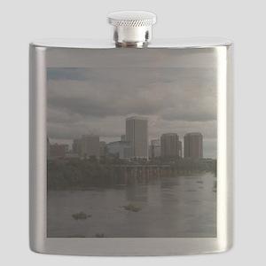 Richmond VA skyline Flask