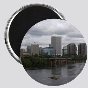 Richmond VA skyline Magnet
