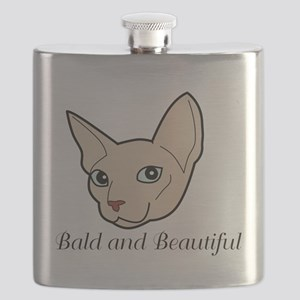 Baldy Cat Flask