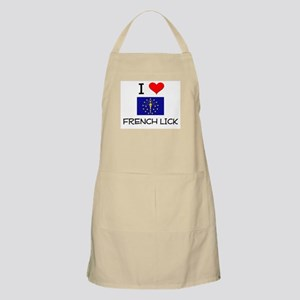 I Love FRENCH LICK Indiana Apron