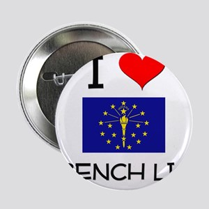 """I Love FRENCH LICK Indiana 2.25"""" Button"""