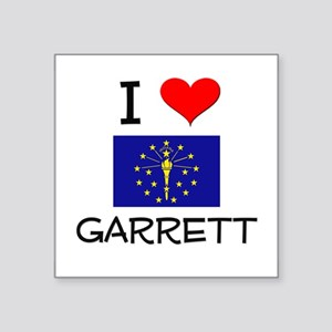 I Love GARRETT Indiana Sticker