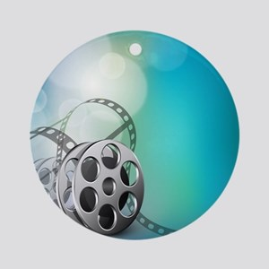 The Silver Screen Round Ornament