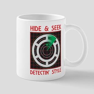 Hide Seek Detectin Style Mugs