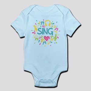 Sing Choir Music Infant Bodysuit