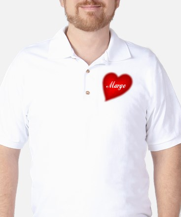 I love Marge products Golf Shirt