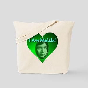 I Am Malala Tote Bag