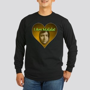 I Am Malala Long Sleeve Dark T-Shirt