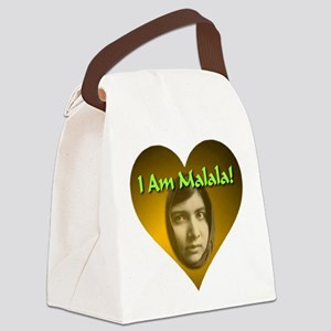 I Am Malala Canvas Lunch Bag