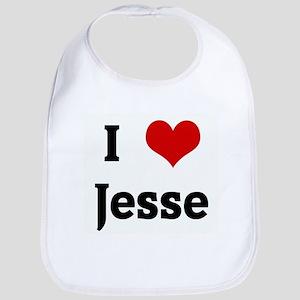 I Love Jesse Bib
