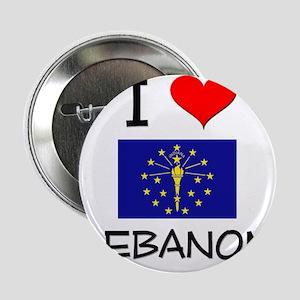 "I Love LEBANON Indiana 2.25"" Button"