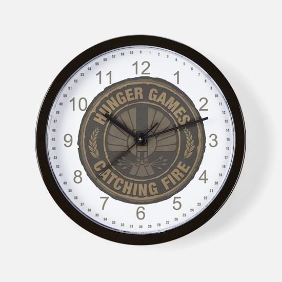 Catching Fire Capitol Logo Wall Clock