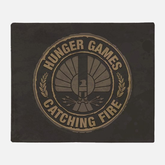 Catching Fire Capitol Logo Throw Blanket