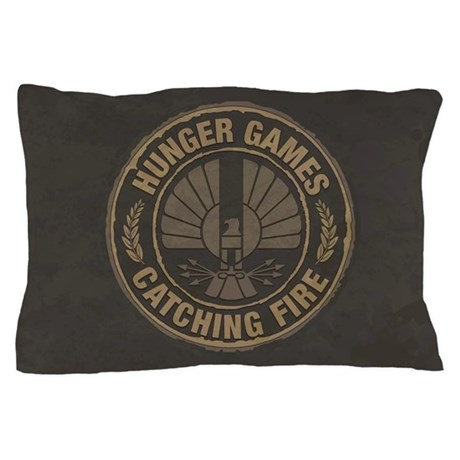 Catching Fire Capitol Logo Pillow Case