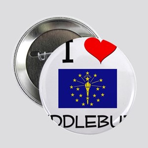 """I Love MIDDLEBURY Indiana 2.25"""" Button"""