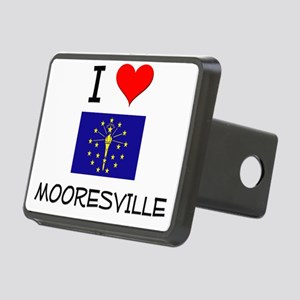I Love MOORESVILLE Indiana Hitch Cover