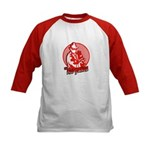 Red Panda Kids Baseball Jersey
