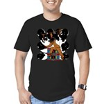 Native American Dancer Men's Fitted T-Shirt (dark)