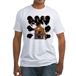 Native American Dancer Fitted T-Shirt