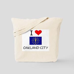 I Love OAKLAND CITY Indiana Tote Bag