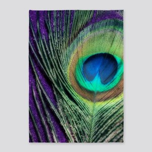 Peacock Purple Orton 5'x7'Area Rug