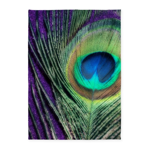 Peacock Purple Orton 5 X7 Area Rug By Christyoliver