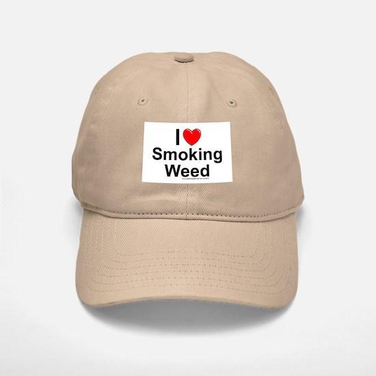 Smoking Weed Baseball Baseball Cap