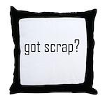 Scrapbooking - Got Scrap? Throw Pillow