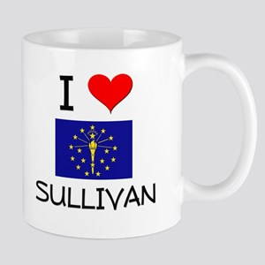 I Love SULLIVAN Indiana Mugs