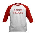 Love Stinks Kids Baseball Jersey